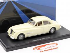 Bugatti Type 101 Lepoix Bouwjaar 1951 room wit 1:43 AutoCult