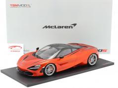 McLaren 720S Bouwjaar 2017 Azoren oranje 1:12 TrueScale