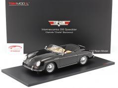 Porsche Intermeccanica 356 Speedster Movie Top Gun (1986) black 1:12 TrueScale