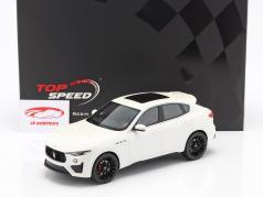 Maserati Levante Trofeo Année de construction 2019 blanc 1:18 TrueScale