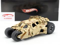 Tumbler Batman The Dark Knight Rises Movie Car 2012 camouflage 1:18 HotWheels