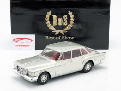 Plymouth Valiant Sedan 4-door Year 1960 silver 1:18 BoS-Models