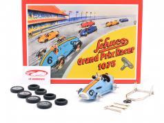 Grand Prix Racer #6 Samlingsboks gulf blå / appelsin Schuco