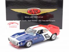AMC Javelin #6 Trans Am Champion 1971 Mark Donohue 1:18 Real Art Replicas