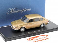 Volkswagen VW Typ 412 LE Limousine Baujahr 1972 gold metallic 1:43 AutoCult