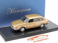 Volkswagen VW typen 412 LE sedan Byggeår 1972 guld metallisk 1:43 AutoCult