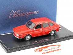Volkswagen VW typen 412 LE sedan Byggeår 1972 rød 1:43 AutoCult