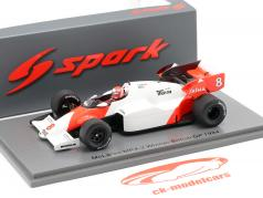 Niki Lauda McLaren MP4/2 #8 Großbritannien GP Weltmeister F1 1984 1:43 Spark