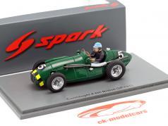 Eric Thompson Connaught A #5 5th Großbritannien GP Formel 1 1952 1:43 Spark