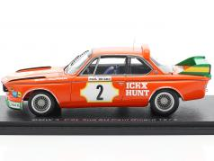 BMW 3.0 CSL #2 第二名 6h Paul Ricard 1973 Ickx, Hunt 1:43 Spark