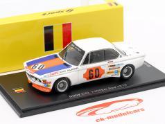 BMW 3.0 CSL #60 Klasse Winnaar 1000km Spa 1973 Lauda, Stuck 1:43 Spark