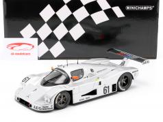 Sauber-Mercedes C9 #61 2do 24h LeMans 1989 Baldi, Acheson, Brancatelli 1:18 Minichamps