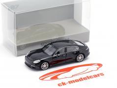 Porsche Panamera 4S Baujahr 2015 schwarz 1:87 Minichamps