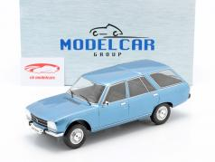 Peugeot 504 Break Bouwjaar 1976 blauw metallic 1:18 Model Car Group