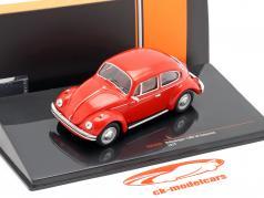 Volkswagen VW Kever 1302 LS Bouwjaar 1972 rood 1:43 Ixo