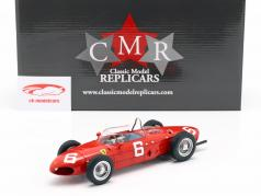 Richie Ginther Ferrari 156 Sharknose #6 3e Belge GP formule 1 1961 1:18 CMR