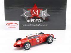 Richie Ginther Ferrari 156 Sharknose #6 3. belgisk GP formel 1 1961 1:18 CMR