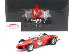 W. Graf Berghe v. Trips Ferrari 156 Sharknose #20 Frankreich GP F1 1961 1:18 CMR