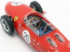W. Graf Berghe v. Trips Ferrari 156 Sharknose #20 French GP F1 1961 1:18 CMR