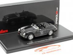 Porsche 356 Speedster #71 Steve's Speedster preto 1:43 Schuco
