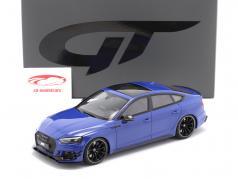 Audi ABT RS5-R Sportback Année de construction 2019 nogaro bleu 1:18 GT-Spirit