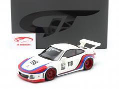 Porsche 911 (997 II) #118 OLD & NEW 935 Martini Look 2018 1:18 GT-Spirit