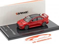 Mitsubishi Lancer Evolution X Final Edition se rallier rouge 1:64 Tarmac Works