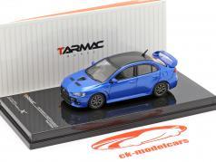 Mitsubishi Lancer Evolution X Final Edition octane bleu 1:64 Tarmac Works