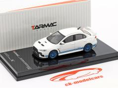 Mitsubishi Lancer Evolution X 311 RS Branco / azul 1:64 Tarmac Works