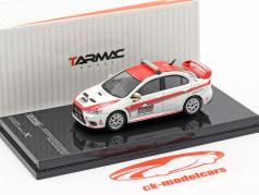 Mitsubishi Lancer Evolution X Pikes Peak Safety Car Branco / vermelho 1:64 Tarmac Works