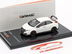 Honda Civic Type R (FK2) year 2016 championship white 1:64 Tarmac Works