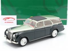 Rolls Royce Silver Cloud 2 by Harold Radford Ano de construção 1959 verde 1:18 Cult Scale