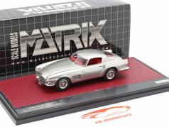 Ferrari 250 GT Berlinetta Speciale year 1956 silver metallic 1:43 Matrix