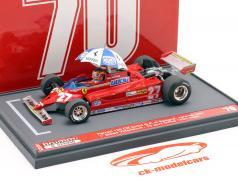 Gilles Villeneuve Ferrari 126CK #27 gagnant Espagnol GP formule 1 1981 1:43 Brumm
