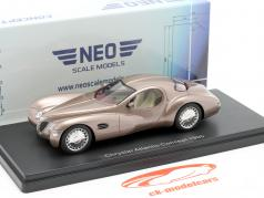Chrysler Atlantic Concept Car Baujahr 1995 dunkel beige metallic 1:43 Neo