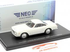 Lancia Flaminia 3C 2.8 Coupe Speciale Pininfarina blanc 1:43 Neo