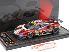 Ferrari 488 GTE #51 winner LMGTE Pro 24h LeMans 2019 AF Corse 1:43 BBR