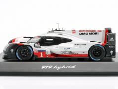 Porsche 919 Hybrid #1 24h LeMans 2017 Jani, Tandy, Lotterer 1:43 Spark