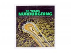 Livre: 90 Years Nürburgring - The History of the famous Nordschleife (Anglais)