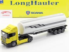Scania R124/400 Öltransporter gelb 1:43 NewRay
