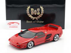 Vector M12 year 1995 red 1:18 BoS-Models
