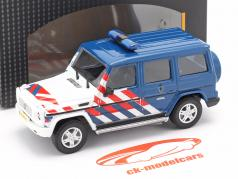 Mercedes-Benz G class military police Netherlands 1:43 Cararama