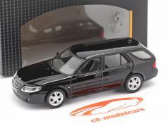 Saab 9.5 Turismo Camioneta negro 1:43 Cararama