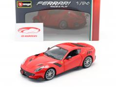 Ferrari F12 TDF year 2016 red 1:24 Bburago