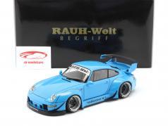Porsche 911 (993) RWB blue 1:18 AUTOart