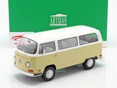 Volkswagen VW T2a Bus Ano de construção 1971 bege / Branco 1:18 Greenlight