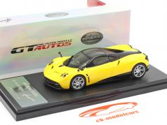 Pagani Huayra Anno 2013 giallo / nero 1:43 Welly GTA