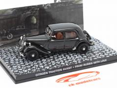 Citroen Traction Avant carro de James filme de James Bond From Russia with Love 1:43 Ixo