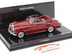 Rolls Royce Silver Cloud II Cabriolet 年 1960 赤 1:43 Minichamps