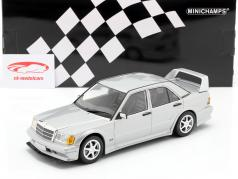 Mercedes-Benz 190E 2,5-16 Evo II 1990 plata metálico 1:18 Minichamps